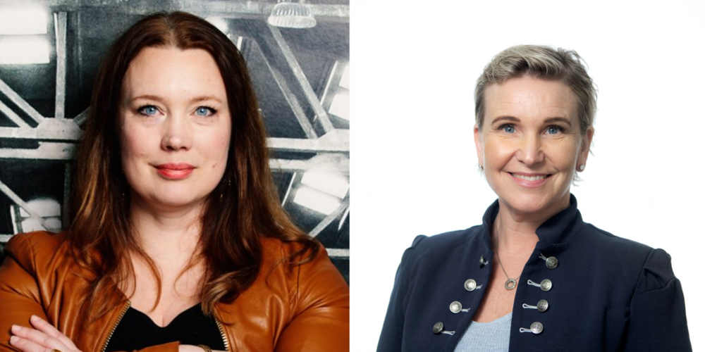 Stina Lantz, Ignite Sweden, och Catarina Berglund, Automation Region, will talk about how startups and corporates can strengthen the ecosystem at Umeå Tech Arena on November 26.