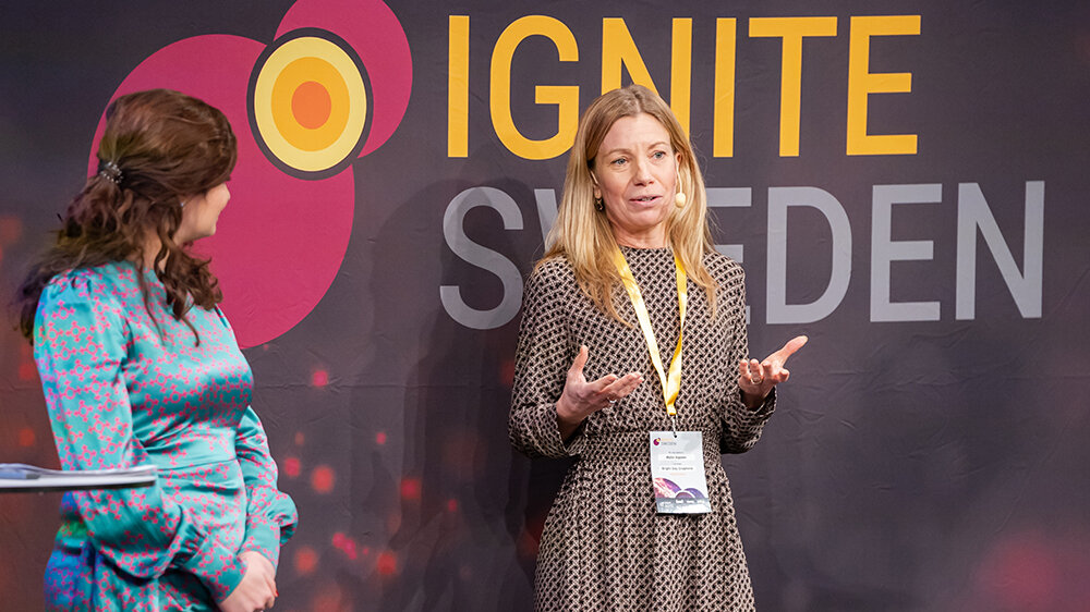 Malin Alpsten is the CEO of Bright Day Graphene, one of the 33 startups that participated in Ignite Power Circle Power.