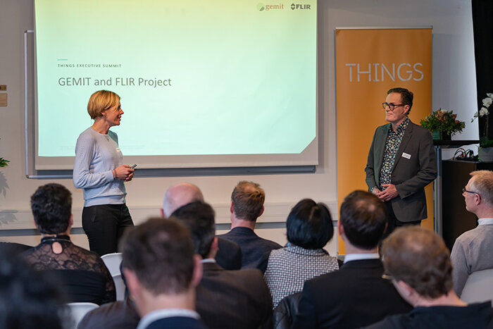 Gemit Solutions and FLIR Systems presented their collaboration case at THINGS last March.